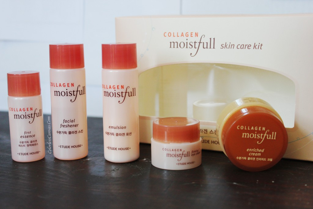 Etude House Moistfull Collagen Trial Kit Review